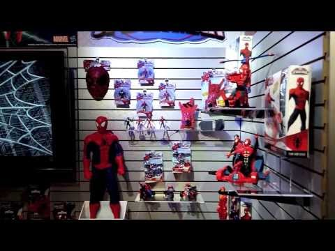 Amazing Spider Man 2 Toy Tour (Hasbro 2014)