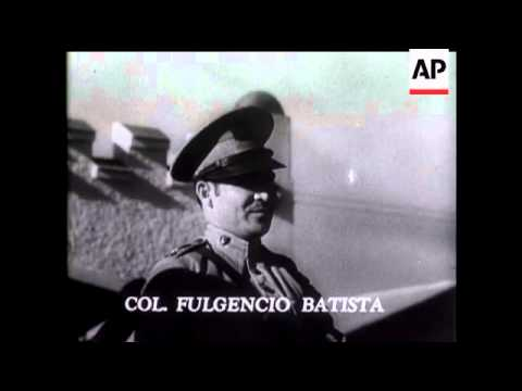 Colonel Fulgencio Batista