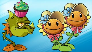 Plants vs. Zombies 2 - Every Plant New Costume! (6th Birthday + Frostbite Caves + Moar)