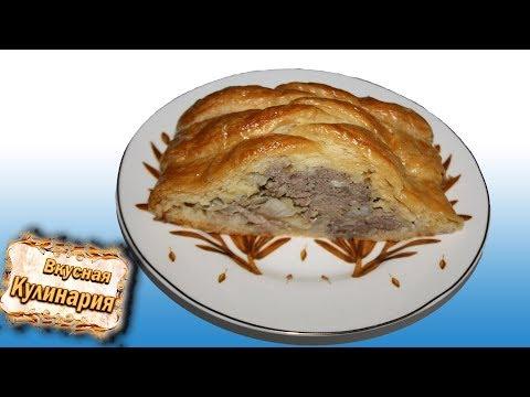 Вкусный пирог с фаршем и картошкой