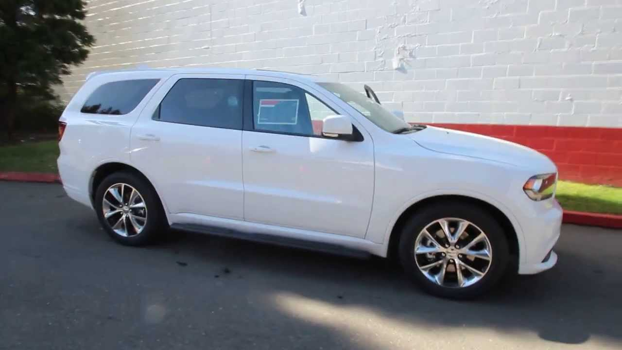 2014 Dodge Durango R T Bright White Ec405787 Seattle