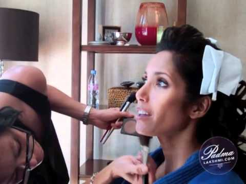 PadmaLakshmi.com: 2011 Emmys Hair and Makeup, Pt. 1