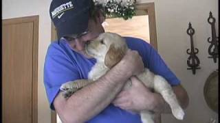 Doug Meets Stella the Puppy:  A Birthday Present