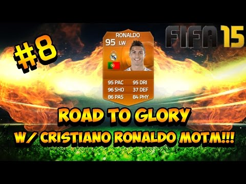 ROAD TO GLORY w/ CRISTIANO RONALDO MOTM!!! #8