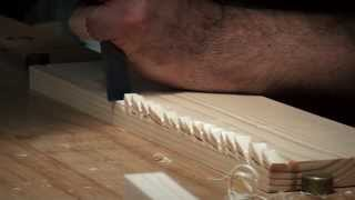Hand Cutting Rebates / Rabbet Joints - Back To Basics Approach