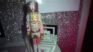 Pink & Glittery Christmas Bedroom/Beauty Room