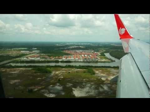 Malindo Air Flight OD1608, KUL-KCH, 9M-LNG, B737-900ER
