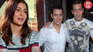 Anushka Sharma Talks About Katrina-Exclusive | Salman Khan Takes Tips From Aamir Khan