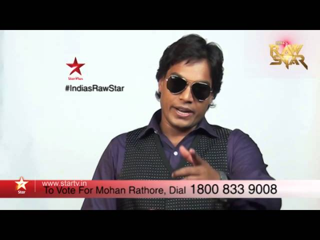 India's Raw Star - Vote for Mohan