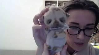 Мастер класс шитье панды. Марика Шмидт