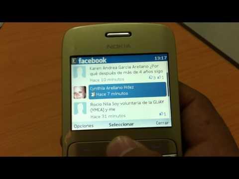 Nokia C3 Test Wi-Fi (En español)