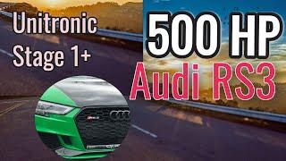 500 HP Audi RS3- Unitronic Tuned - Audi