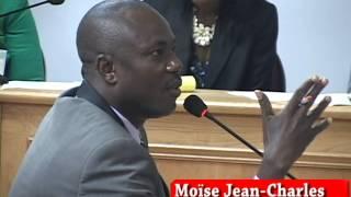 Video ; Sénateur Moise Jean-charles te montre li fe sezisman pou infomacion coleg li te bay