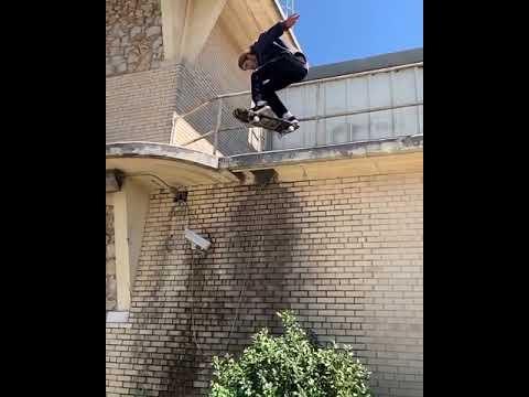 Back 180 in OKC by @aaronjawshomoki 🎥: @jeffvallee #shralpin | Shralpin Skateboarding