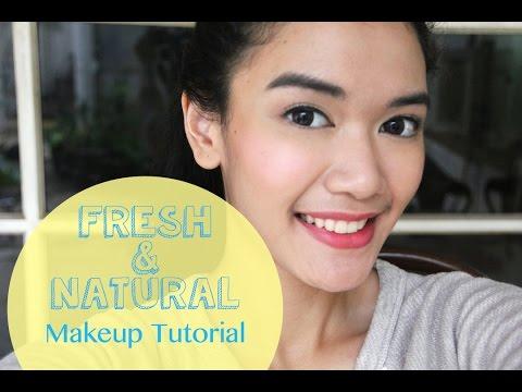 Fresh & Natural Makeup Tutorial [Indonesian Sub]   DXB ♡ thumbnail