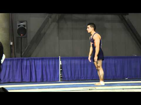 C.J. Maestas - Vault - 2012 Winter Cup Finals