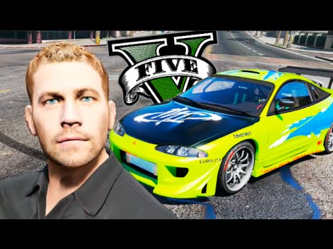 PAUL WALKER IN GTA V