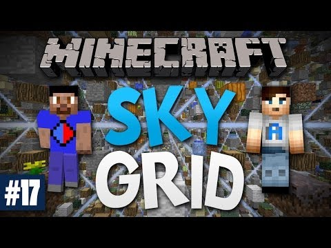 Minecraft SKY GRID #17 with Vikkstar & Ali A (Minecraft Skygrid Survival)