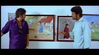 Kalakalappu - Kalakalappu @ Masala Cafe comedy movie Scene - Vettupuli Santhanam and his Veera parambarai