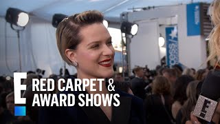 Why Evan Rachel Wood Wore a Suit to 2017 SAG Awards | E! Red Carpet & Award Shows
