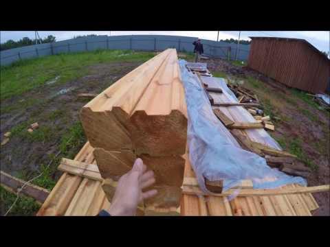Сечение бруса для жилого дома