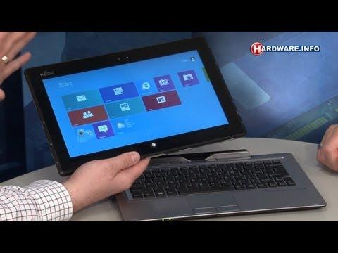 Fujitsu Stylistic Q702 Windows 8 tablet review - Hardware.Info TV (Dutch)