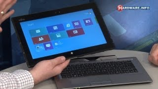 Fujitsu Stylistic Q702 Windows 8 tablet review - Hardware.Info TV (Dutch)