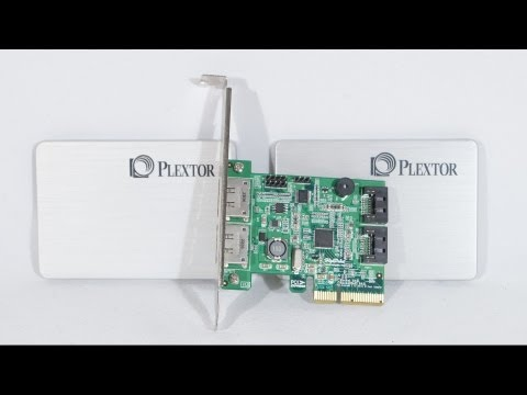 #1454 - RAID 0 Results for Plextor M5 Pro Xtreme SSDs using Highpoint 642L Controller Video Review