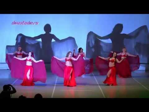 Отчетный концерт 30 мая 2015 года в Концертном зале отеля Санкт-Петербург. Восточный танец. Хореограф Ксения Чурилова.