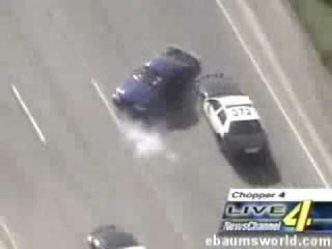 Police Chase Mustang Driver With The Lives Of A Cat