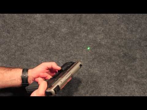 Viridian Green Laser - For Ruger SR9