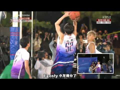 [中字/CUT] 131117 KBS Dream Team - EXO Kris & Tao
