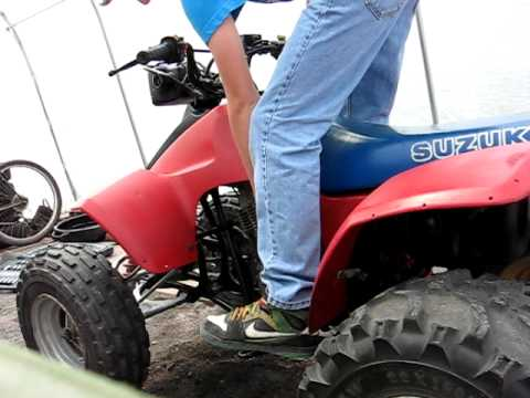 86 Suzuki lt230s Quadsport start-up