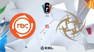Six Invitational 2019 – Groupstage - Day Two - Team Reciprocity vs. Ninjas in Pyjamas
