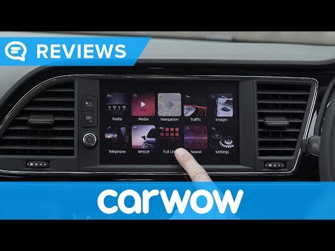 SEAT Leon 2017 infotainment and interior review   Mat Watson Reviews