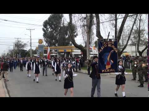 Desfile Cívico de Parral 2014
