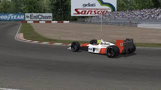 rFactor - F1 1988 - McLaren MP4/4 at Autodromo Nazionale di Monza 1988