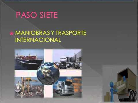Proceso de Exportacion Peru Proceso de Exportacion e