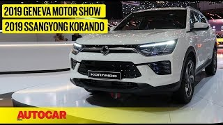 2019 SsangYong Korando | First Look Preview | Geneva Motor Show 2019 | Autocar India