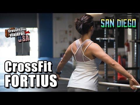 Crossfit Fortius y playa Encinitas (incluye Thug Life)