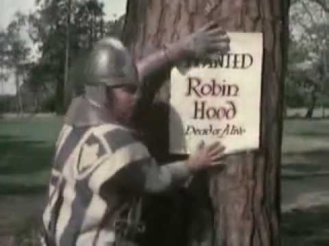 Benny Hill - Robin Hood video