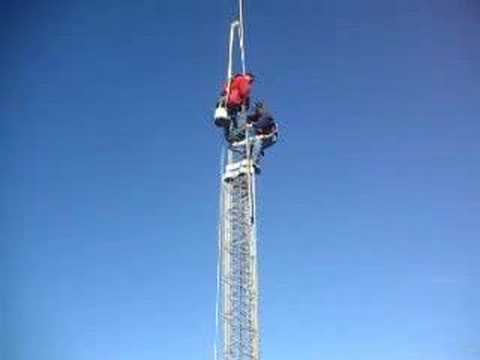 Ham Radio Tijeragroup Tower and 200 lbs Mast By K6EG
