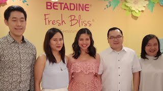 Maine Mendoza renews contract with BETADINE Fresh Bliss Daily Feminine Wash