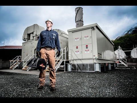 City of Sitka Titan 130 Modular Power Plant