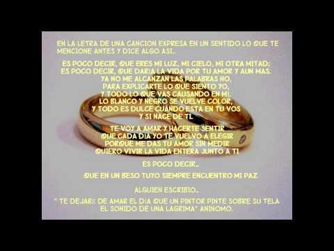 Mensaje de Feliz 20 Aniversario de Bodas !!! - YouTube