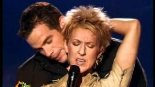 Celine Dion Et Garou Sous Le Vent Live
