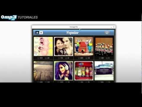 Cómo instalar y usar Instagrille (Instagram para PC) - Mp3.es