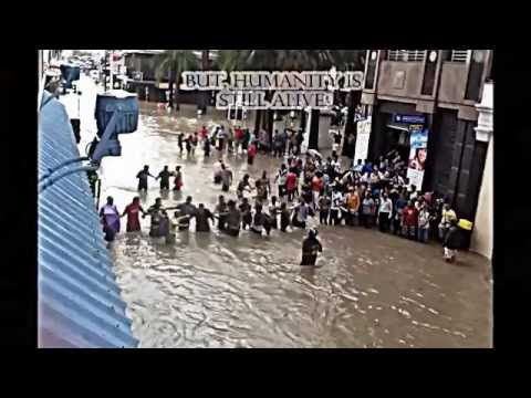 Mauritius flooded within minutes - 30th March 2013
