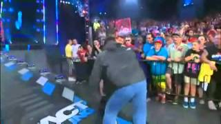 TNA Locker Room Empties And Fights Off Aces and Eights