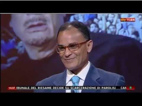 """Magdi Cristiano 22/08/11 su Sky TG24 ospite di Sky TG24 Pomeriggio """"Gheddafi stretto d'assedio"""""""